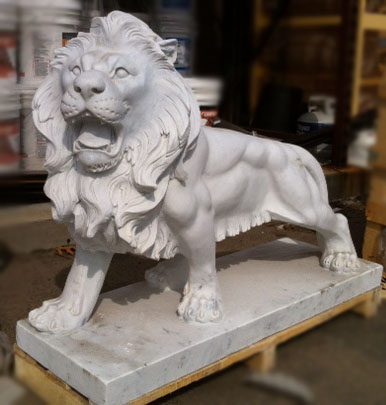 Classical Marble Lions
