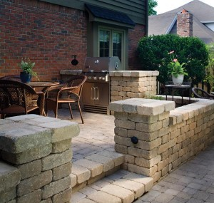 Outdoor Hardscape Grill