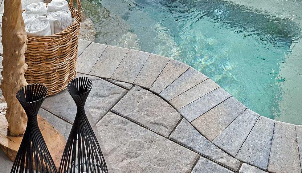 paver pool patio & deck ideas