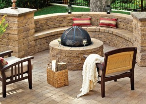 Hardscape Outdoor Fire Pit