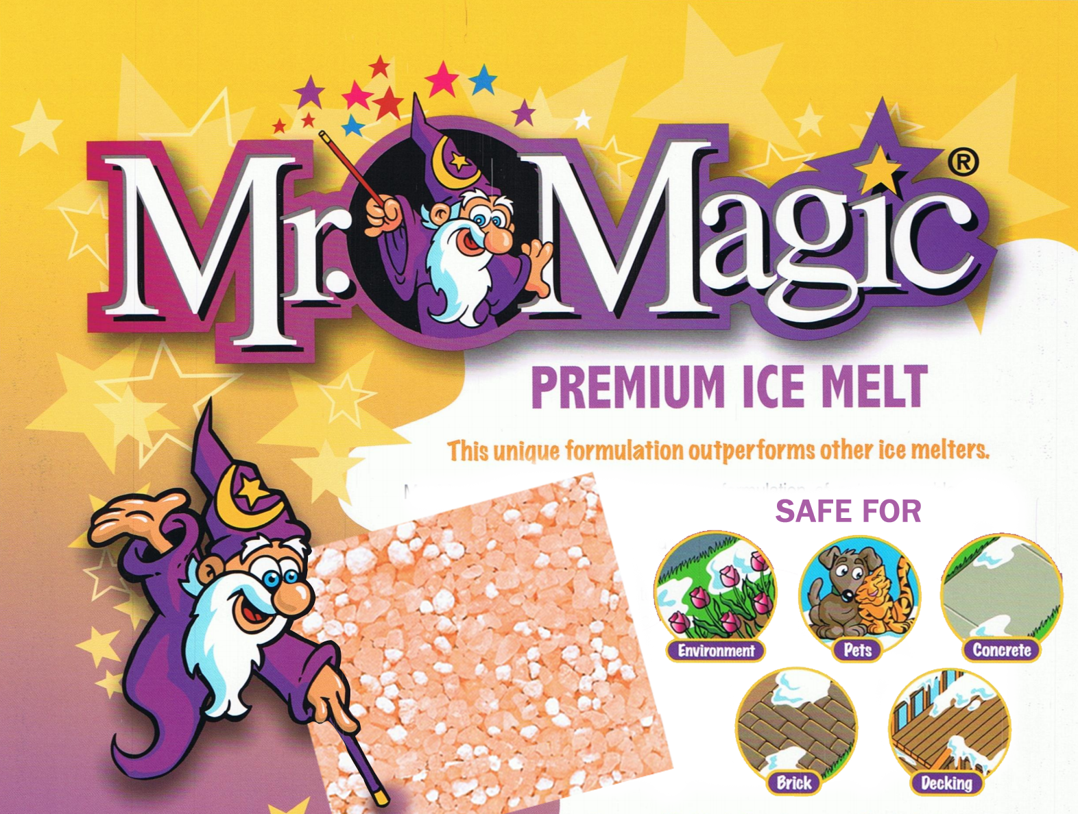Mr. Magic Premium Ice Melt, Mr. Magic