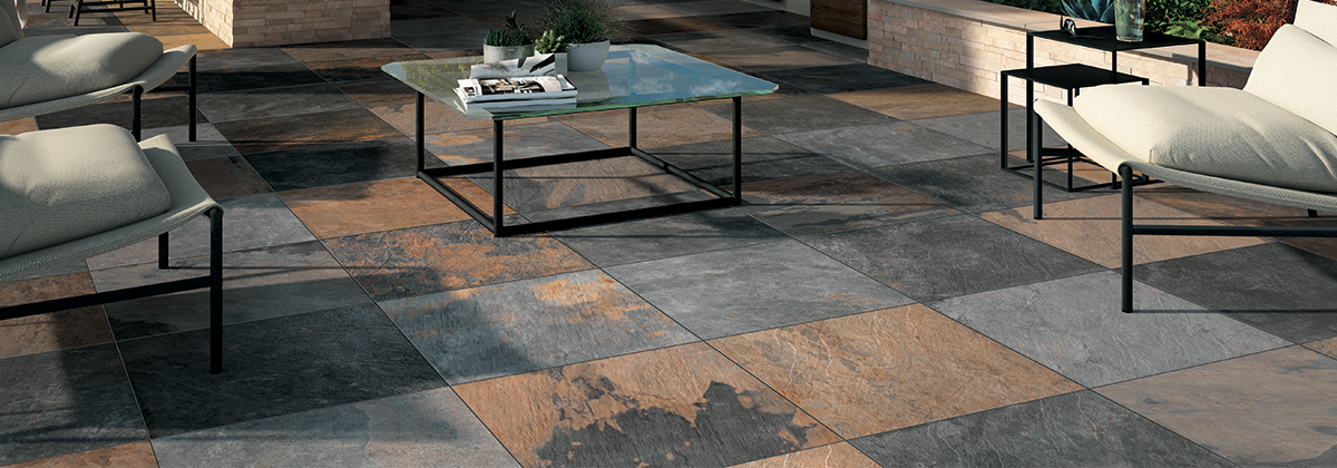 Belgaard Hardscapes - Ardesie Porcelain Tile by Mirage Porcelain Pavers