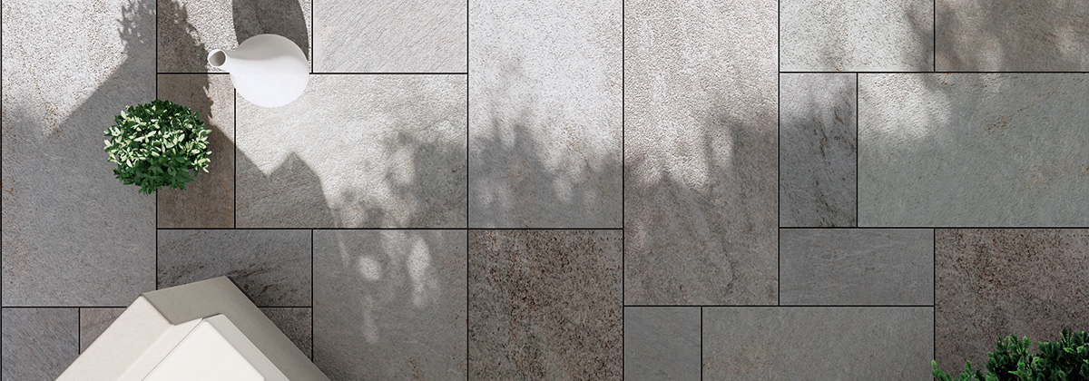Belgaard Hardscapes - Quarziti 2.0 Porcelain Tile by Mirage Porcelain Pavers