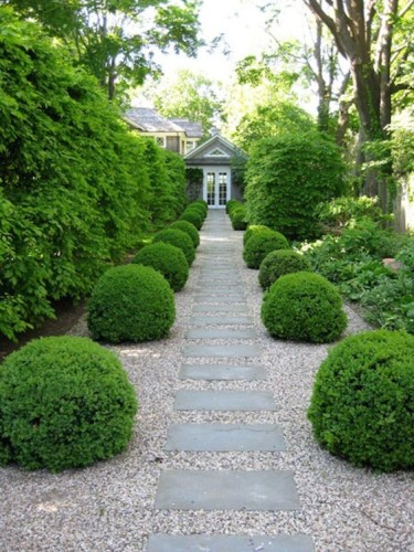 Easy garden path walkway ideas outdoor living - Garden pathway design ideas with some natural stones trails ...