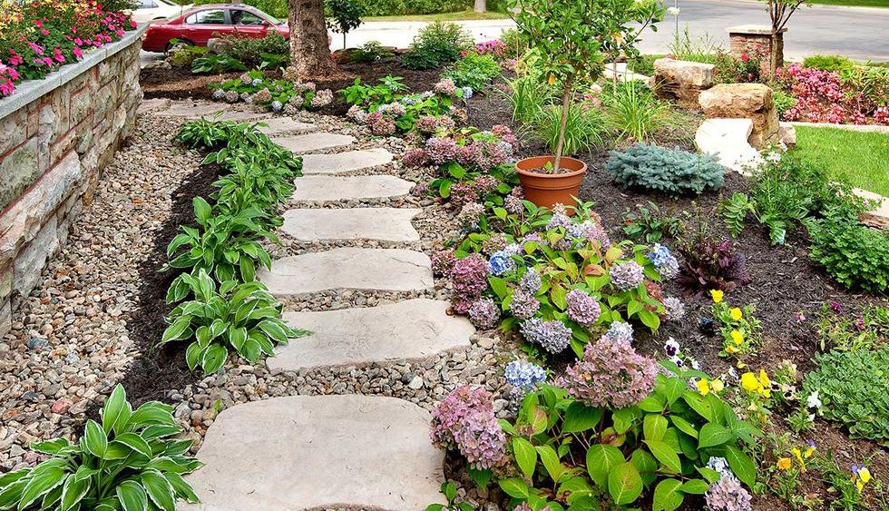 Garden archives tlc supply blog - Garden pathway design ideas with some natural stones trails ...
