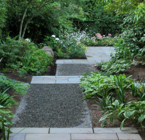 Garden Path Crushed Stone