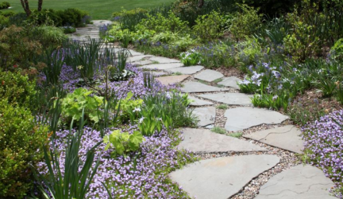 Garden Path Irregular Bluestone