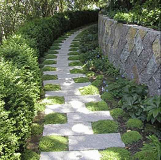 Garden Path Staggered Garden Path Staggered
