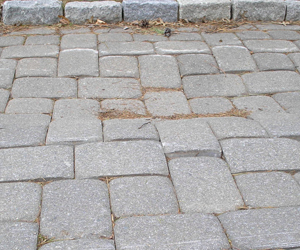 Uneven Pavers from improper compact base