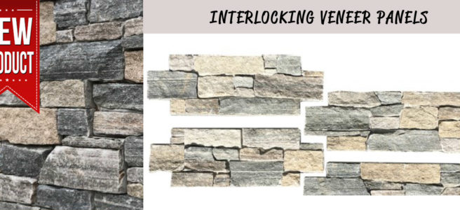 Interlocking Veneer Panels