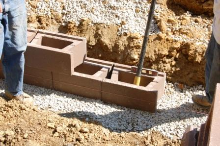 Retaining Wall Base