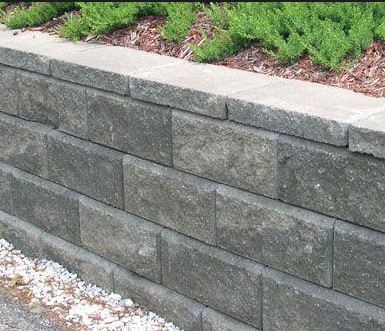 Allan Block 6 Degree Retaining Wall