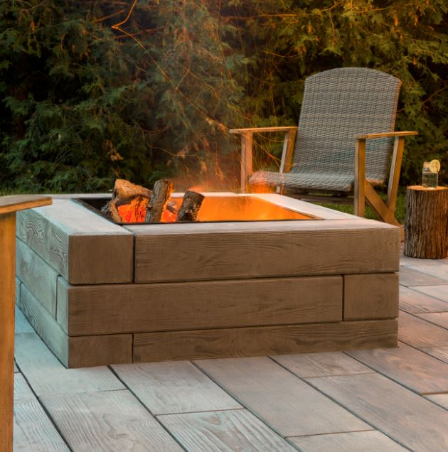 Borealis Fire Pit from Techo Bloc